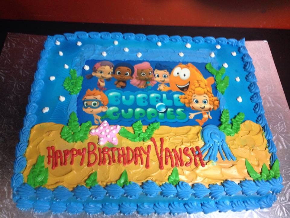 Happy Birthday Vansh Cake